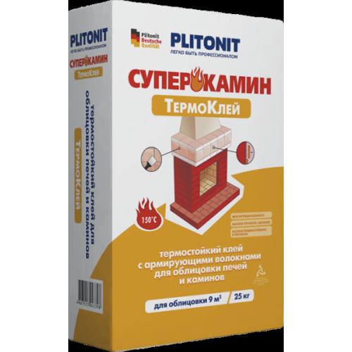 Плитонит Суперкамин ТермоКлей (25 кг)