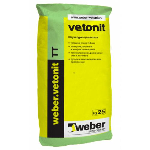 Штукатурка Weber Vetonit TT