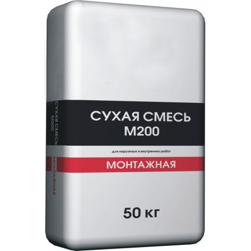 Смесь М200 кладочная (50 кг)