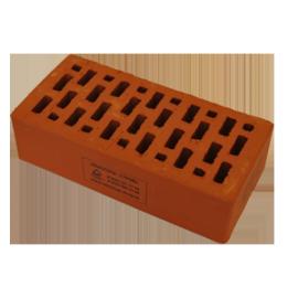 Лицевой керамический кирпич Braer красный гладкий 1 НФ